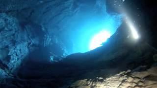 Titan dives The Blue Eye in Albania