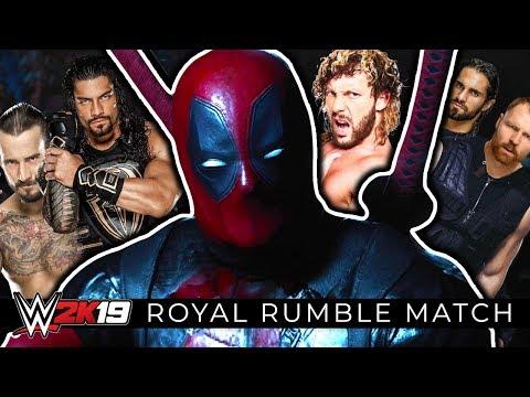 WWE 2K19 - 30 MAN ROYAL RUMBLE MATCH!! (MOST DOWNLOADED!!)