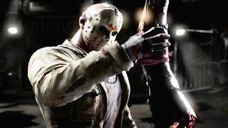 Mortal Kombat X Jason Voorhees Ladder Playthrough 2015 HD