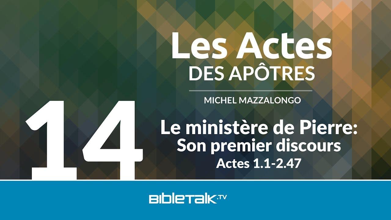 14. Le ministère de Pierre