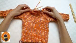 Stricken wir! - Raglan Pulli, Raglanschräge berechnen und stricken