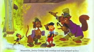 """A reading of """"Pinocchio"""" - Disney Golden Book (1/2)"""