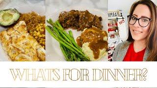 WHAT'S FOR DINNER? EASY BUDGET FRIENDLY DINNER IDEAS 💡