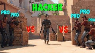 1 XAKER vs 5 PRO - Standoff 2  (Ты видел?...)
