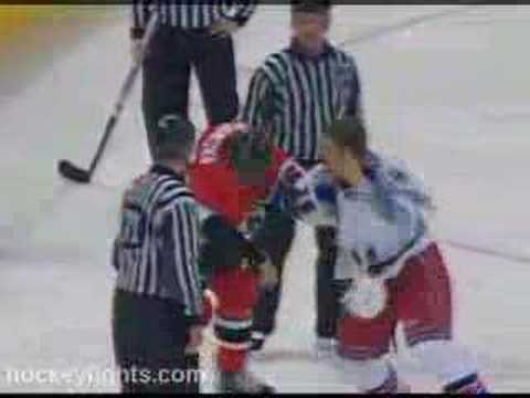 Brian McGrattan vs. Colton Orr