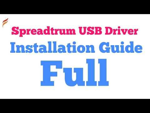 How to install Spreadtrum USB Driver correctly - Frendx com