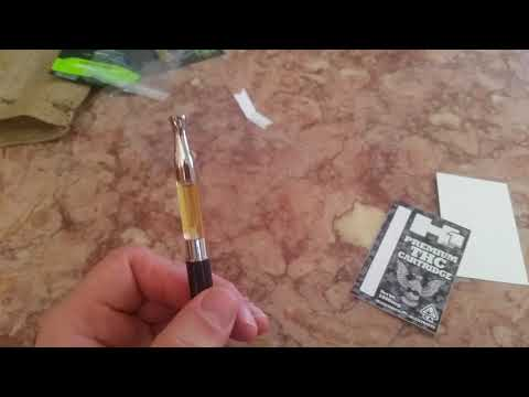 Review of H1 1gram thc vape cartridge. Girl scout cookies