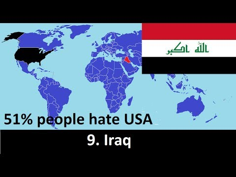 Top 20 Countries That Hate America
