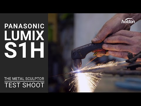 Panasonic LUMIX S1H | The Metal Sculptor | 6K Test Shoot | Footage Review
