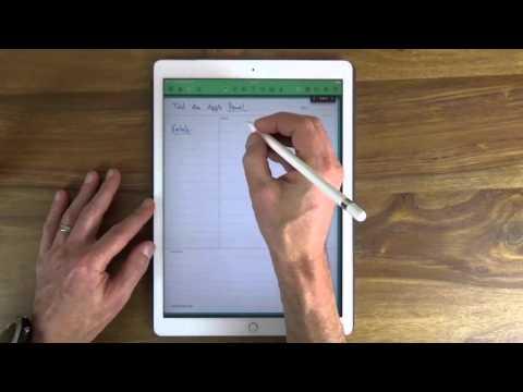 Papierloses Büro: Test des Apple Pencil für das iPad Pro