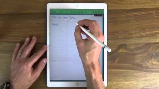 Papierloses Büro: Test des Apple Pencil für das iPad Pro - dooclip.me