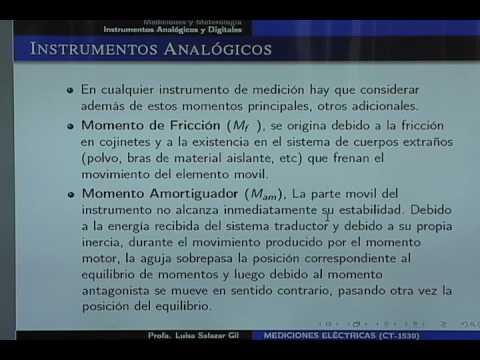 Clase 03: Instrumentos analógicos y digitales