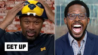 Jalen Rose is pumped for Michigan vs. Ohio State | Get Up