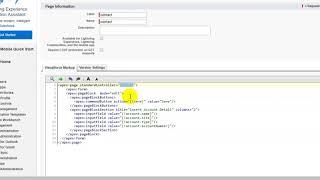 Insert Data in Salesforce Using Standard Controller