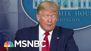 Trump Calls Himself A 'Wartime President' While Dodging Responsibility   The 11th Hour   MSNBC