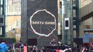 『DJ 石野卓球 TAKKYU ISHINO』 Adidas BOOST TOKYO NIGHT 2015.2.28 @六本木ヒルズアリーナ
