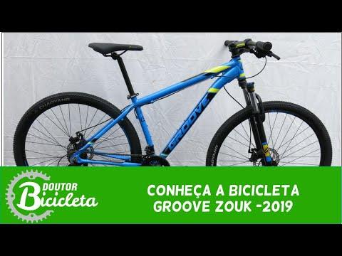4dfbfc45f Bicicleta Groove Zouk Azul 2019 - Doutor Bicicleta