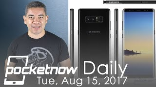 Samsung Galaxy Note 8 specs leaked, Apple Watch LTE & more - Pocketnow Daily