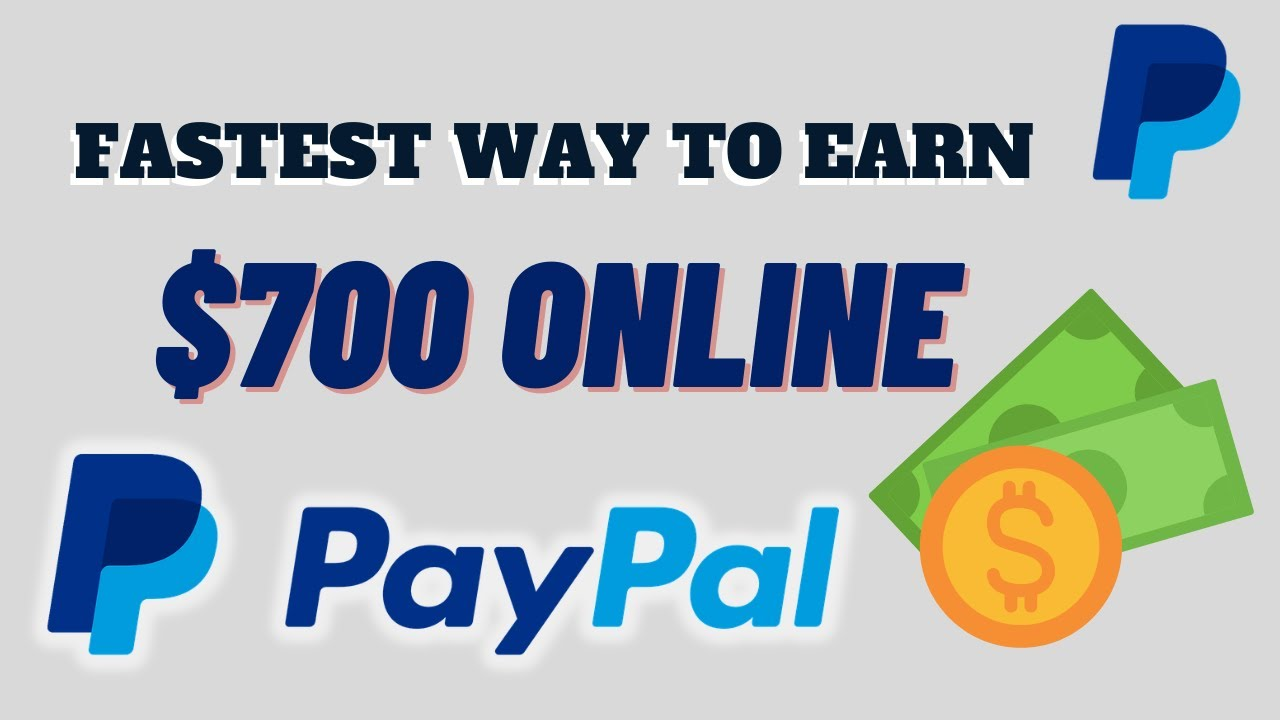 Make $700 Online with PayPal in the Fastest Method (Generate Income Online) thumbnail