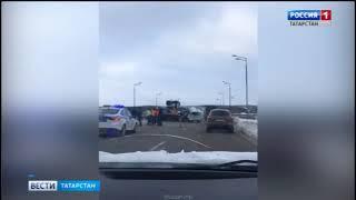 В Татарстане на федеральной трассе М-7 произошло смертельное ДТП