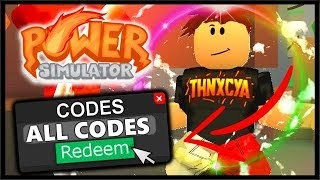 All Roblox Power Simulator Codes Roblox Power Simulator