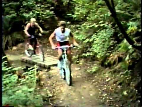 1985 Vintage Mountain Biking - UBC Endowment - Vancouver