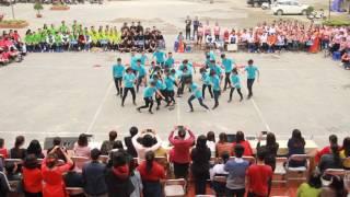 Màn nhảy flash mob vô địch mùa 2 của trường Chuyên Hà Giang - 12 anh khóa 6.