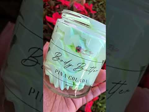 Whipped Face & Body Butter ( Pina Colada )
