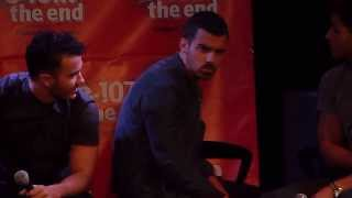 Joe Jonas, Joe Jonas Blue steel impression 8/13/13