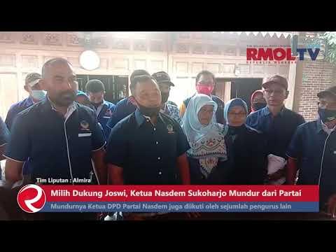 Milih Dukung Joswi, Ketua Nasdem Sukoharjo Mundur dari Partai