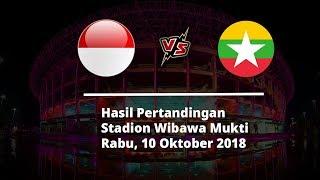 Hasil Akhir Indonesia Vs Myanmar: Skuat Garuda Menang 3-0 atas Lawannya
