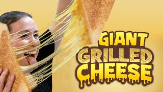 DIY Giant Grilled Cheese 2.0