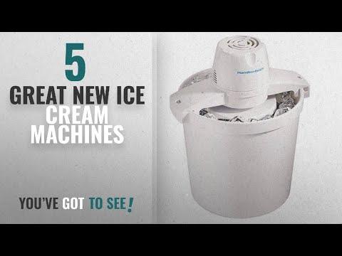 , Hamilton Beach 68320 1-1/2-Quart Capacity Ice Cream Maker, White