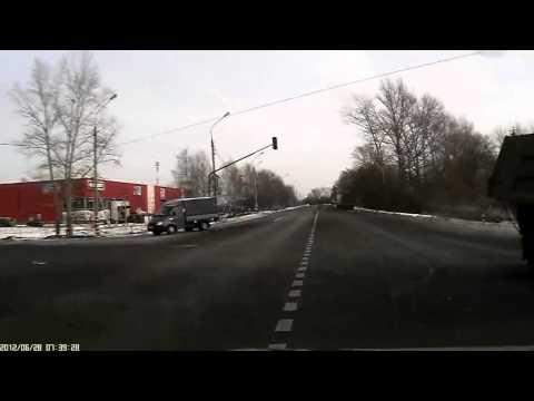 Авария на трассе / видео