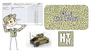 CSDP- The DA 2062