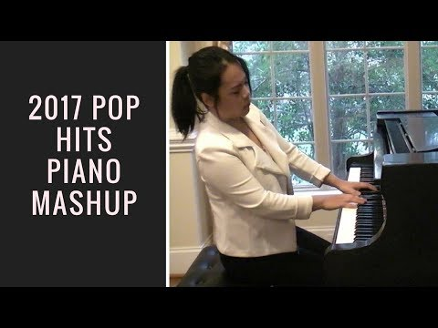 2017 TOP HITS MEGA MASHUP (PIANO COVER) 40 hits in 1