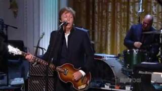 Paul McCartney & Stevie Wonder - Ebony & Ivory (Live)