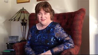 A special message from Susan Boyle!