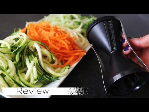 Cortador De Legumes Em Espiral |  Espiralizador | Spiralizer Review | 209 🍠🍆