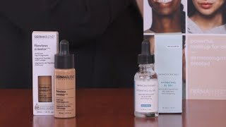 How to use Dermablend Flawless Creator with SkinCeuticals Hydrating B5 Gel