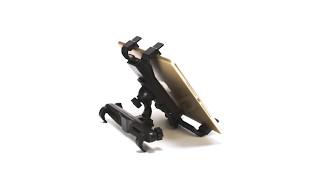Back Seat Adjustable Tablet Holder - Black