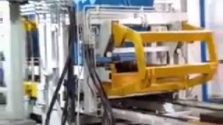 Стационарная автоматическая линия для тротуарной плитки SUMAB R-1500 (Швеция) от компании Строительное Оборудование - видео 2