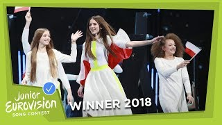 Roksana Węgiel   Anyone I Want To Be   Poland 🇵🇱   WINNER   LIVE   Junior Eurovision 2018