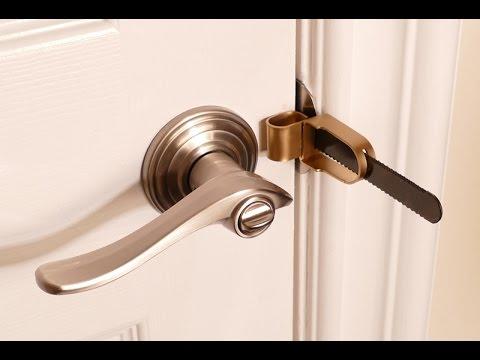 Portable Door Lock for Hotels, Home or Dorm