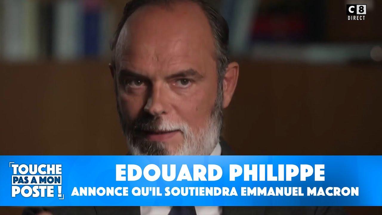 Election présidentielle de 2022 : Edouard Philippe annonce qu'il soutiendra Emmanuel Macron