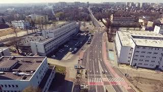 INFO Z REGIONU – Rybnik w czasie epidemii. Wideo z drona