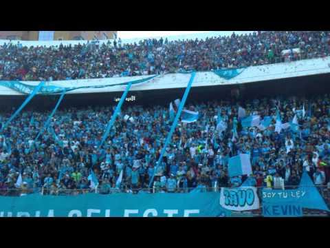 """Hinchas bolivar, final estadio"" Barra: La Vieja Escuela • Club: Bolívar"