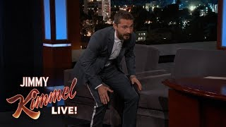 Shia LaBeouf Has a Poop-Eating Puppy - Video Youtube