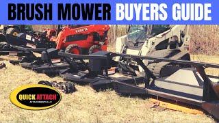 Brush Mower Buyers guide