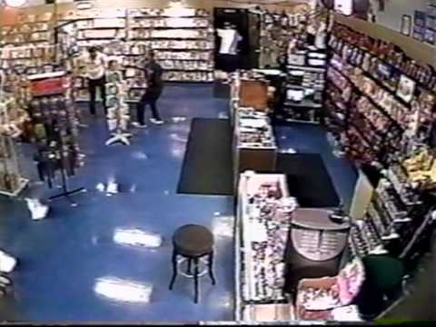 Sex shop robbery